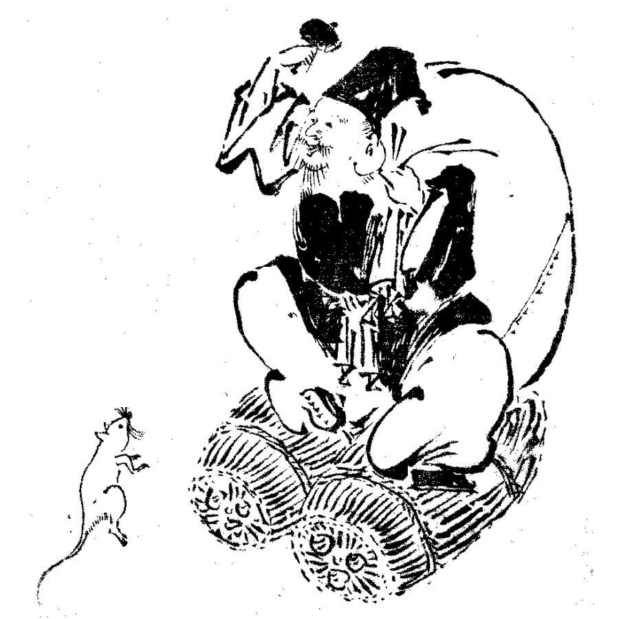 大黒天 - 画図拾遺(享保5年・1720年)