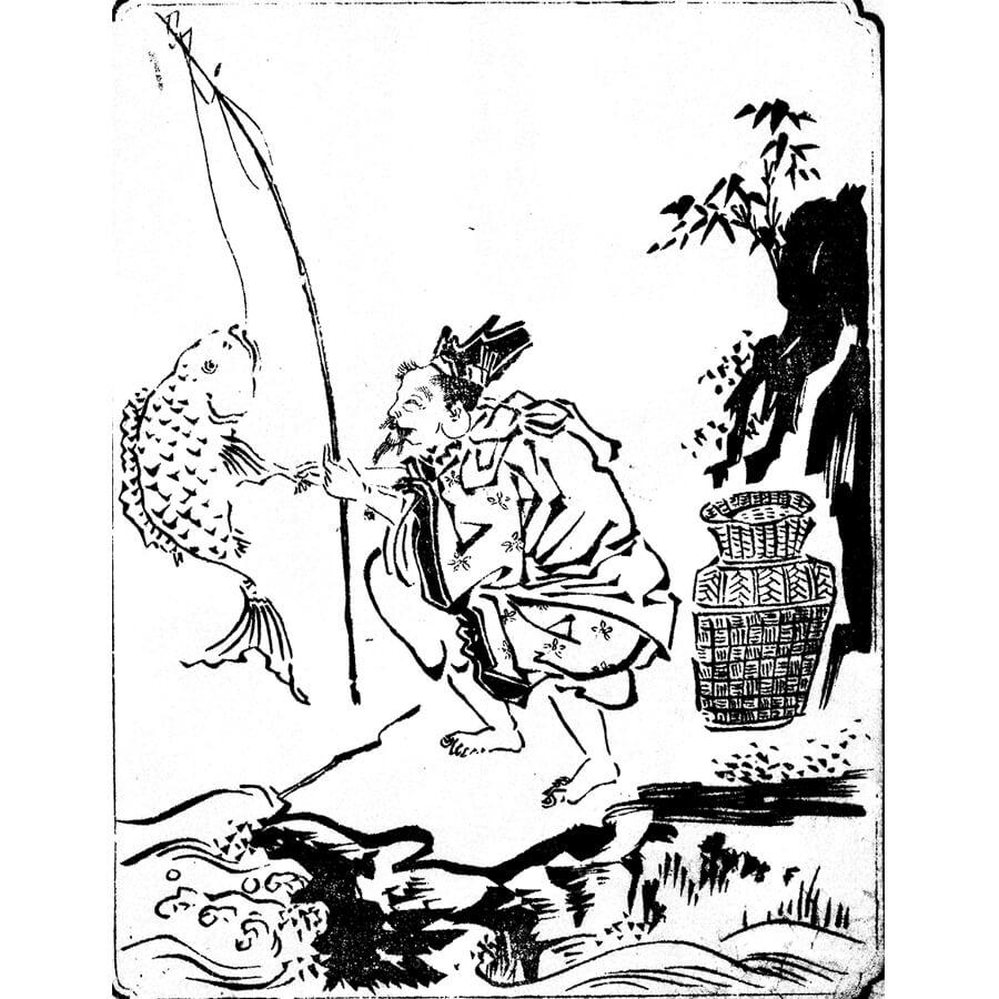 恵比寿 - 画図拾遺(享保5年・1720年)