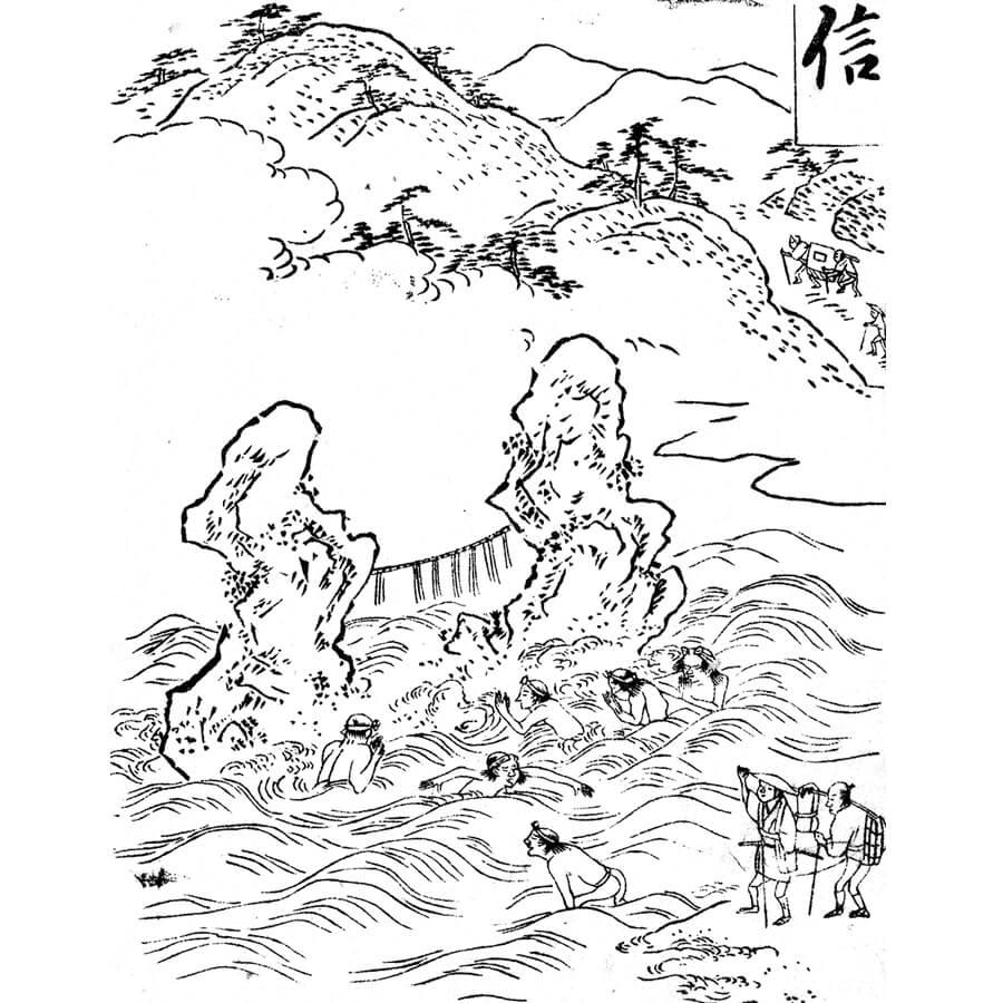 二見の浦・夫婦岩 - 五常弁(寛政6年・1794年)