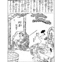 左官大黒 - 頭書増補訓蒙図彙(寛政元年・1789年)