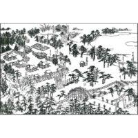 住吉大社・反橋 - 絵本直指宝(延享2年・1745年)