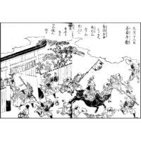 太秦牛祭 - 都名所図会(安永9年・1780年)